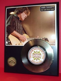 John Fogerty Gold 45 Record Limited Edition Display