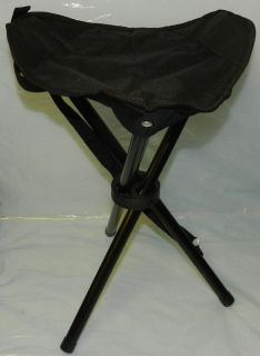 Folding Camping Travel Tripod Chair Stool Carry Bag Strap