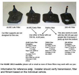 ct powertrain pan gasket filter numbers fiber pan gasket 77500f