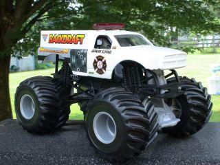 Hot Wheels Monster Jam World Final Back Draft 1 24