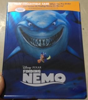 Finding Nemo Blu Ray Metal Case Best Buy Exclusive Like Steelbook RARE