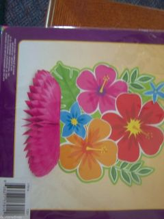 HIBISCUS FLOWERS CENTERPIECE LUAU DECORATIONS PARTY SUPPLIES NEW