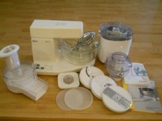 Oster Kitchen Center Mixer Chopper Food Processor Ice Cream Maker