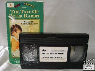 Tale of Peter Rabbit The VHS Carol Burnett