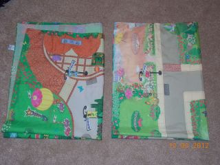 Fisher Price Sweet Streets Lot of 2 Play Mats East West Side Complete