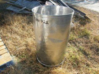 55 Gallon Stainless Steel Drum Tank Food Wine Beer Sanitary