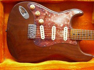 Fender Lefty 76 FOXY BROWN Stratocaster Custom Built Hendrix Vibe