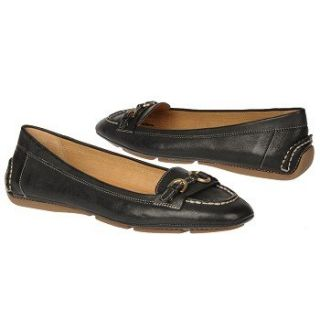 Franco Sarto Womens Manet Black Leather
