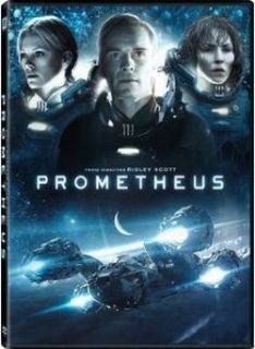 Prometheus DVD New Charlize Theron Guy Pearce Michael Fassbender