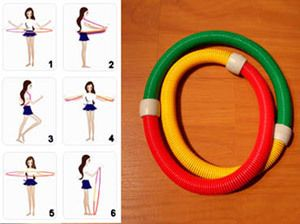 Spring Hula Hoop Equipment Fitness Sporting Goods Exercise Gym Workout