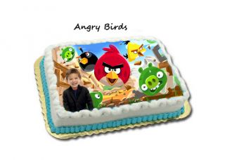 Angry Birds Birthday Cake Designs Invitations