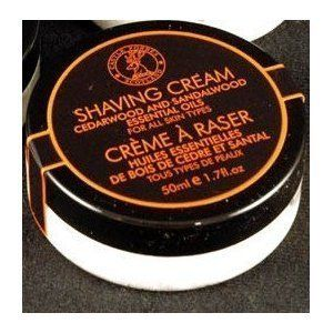 Castle Forbes Cedar and Sandalwood Shaving Cream Trial Size TSA