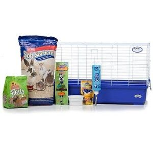 Super Pet My First Home KT Complete Rabbit Cage Kit