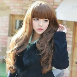 100 Japan Senior Fiber 2012 New Fashion Sexy Girls Long Curly Full