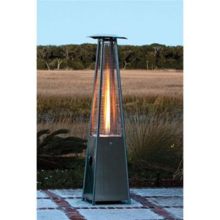New Stainless Steel Pyramid Flame Patio Heater