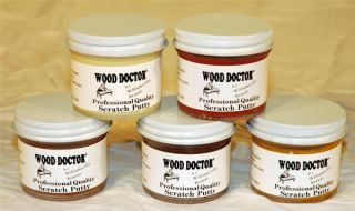 Wood Drs Furniture Care Repair Refinish Kit with Video