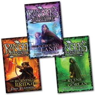 John Flanagan Rangers Apprentice Series Collection Set 3 Books Brand