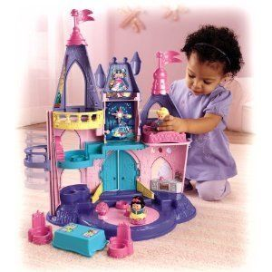 Fisher Price Little People Princess Songs Palace New