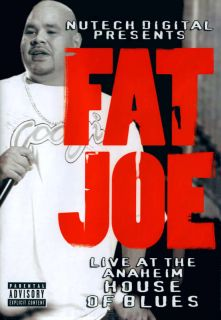 Fat Joe Live at The Anaheim House of Blues DVD 2006 064572153793