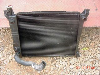 1986 97 Ford Aerostar Radiator with Fan Shroud Hose Cap