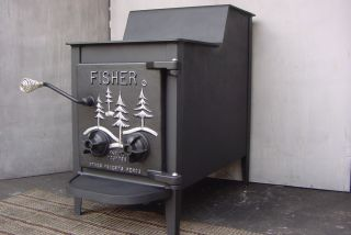 FISHER Mama Bear Wood Burning Stove Burner Woodburning Woodburner