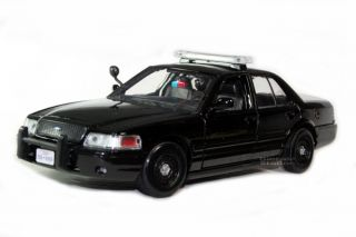 Ford Crown Victoria Special Service Police Car 1 24 Blk