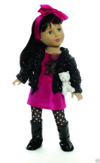 Madame Alexander 18 inch Doll Favorite Friends Fashionista with Cat