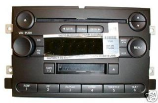Ford F150 F 150 CD Cassette Radio Factory Original Stereo 2004 2006