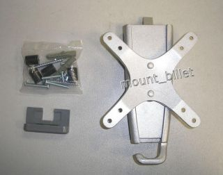 LCD LED Flat Panel TV Monitor Wall Mount Silver 13 30