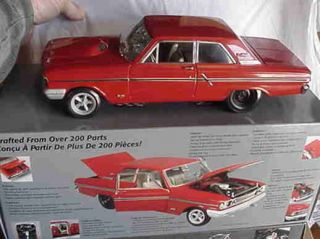 Ertl 1 18 1964 Ford Fairlane Thunderbolt Rangoon Red
