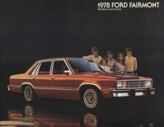 1978 Ford Fairmont Dealer Sales Brochure Book ES