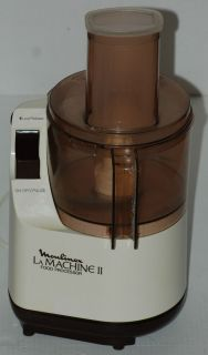 Moulinex La Machine II Food Processor with Chopping Blade in GUC