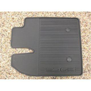 2011 2012 Edge Genuine Ford Black Rubber All Weather Floor Mat Set 3