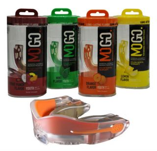 MOGO Performance Series Sports Flavored Mouthguard Mouthpiece Choice 4