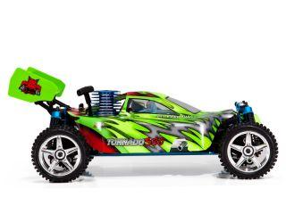 Fast Nitro RC TORNADO S30 Buggy RedCat 4x4 1/10 Radio Controlled car