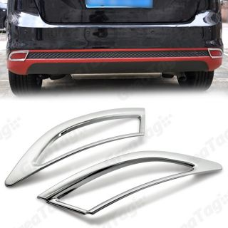 2012 Ford Focus Sedan Triple Chrome Tail Rear Fog Light Cover Moulding