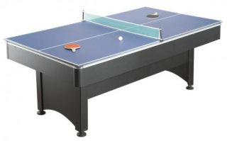 Pool Table Table Tennis Ping Pong 7 ft Multi Game Table Brand New Free