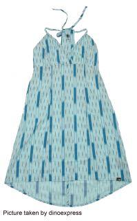 New The North Face Womens Felicia Dress Cute Blue Medium
