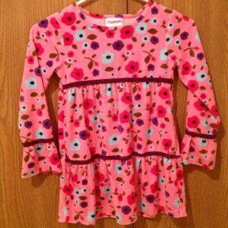 Flapdoodles Girls Velvet Tunic Dress Size 6X Winter