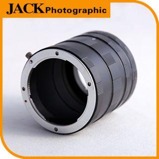 Macro Extension Tube Ring for Canon EOS EF DSLR SLR Camera Lens