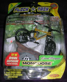 Flick Trix Rock Shox Mountain Bikes series tan Grand Marquis Mongoose