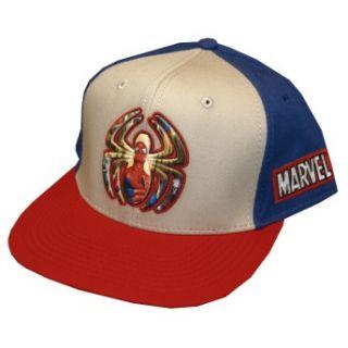 Spider Logo Siniser Six Marvel Hero Snapback Fla Bill Cap Ha