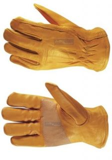 Pack Wells Lamont Riggers Mens Work Gloves Pair Leather Heavy Duty