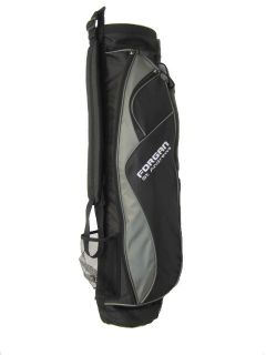FORGAN Ultra Lite Nylon Carry Golf Bag Grey Black New