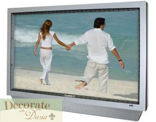 32 TV Outdoor Sunbrite Pro Flat Screen LCD HD All Weather Silver