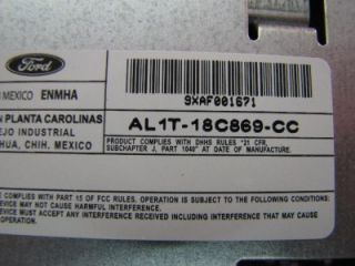 FORD TRUCK F150 F250 F350 EXPEDITION OEM FACTORY CD DISC AM FM