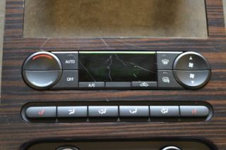 04 08 Ford F150 King Ranch Lariat Radio Climate Control Woodgrain Dash
