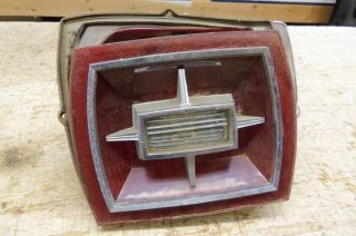 1966 Ford Galaxie Used Tail Light Assembly Lens Reverse Custom