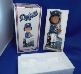 Fernando Valenzuela Bobble Head 2011 Dodgers MINT NEW IN BOX