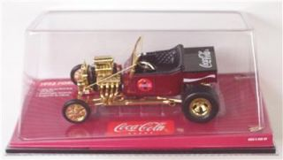 1923 Ford T Bucket 1 18 Johnny Lightning Coca Cola COKE LE Street Rod